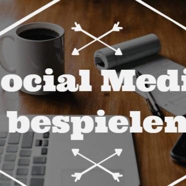 Social Media bespielen
